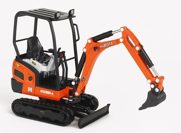 Excavatrice KX018